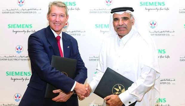 QEWC Siemens pact to nurture local engineering talent