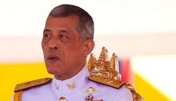 Thai King Maha Vajiralongkorn