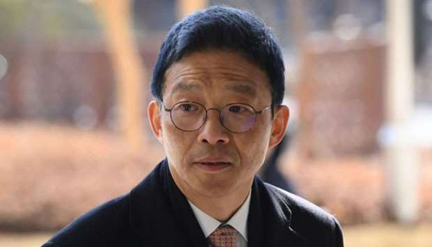 Former senior South Korean prosecutor Ahn Tae-geun