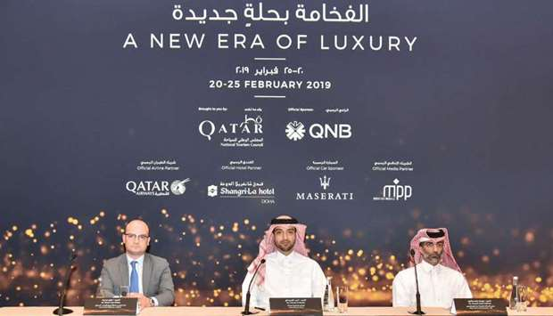 The Doha Jewellery and Watches Exhibition press conference
