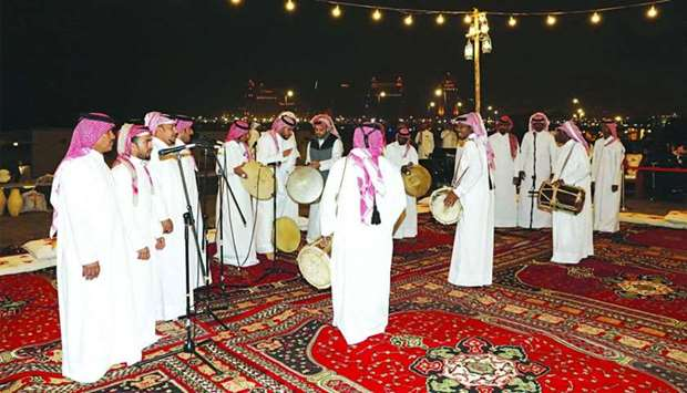 Traditional shows wow audience at Katara