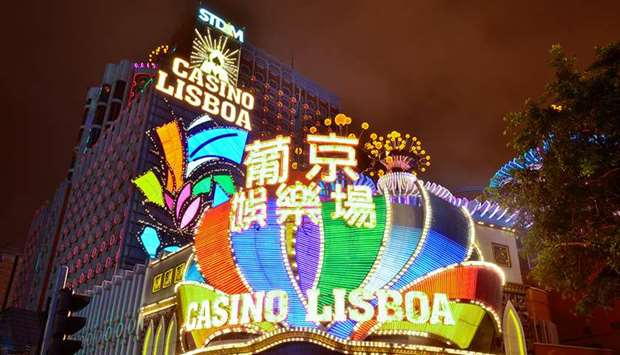 A casino in  Macau