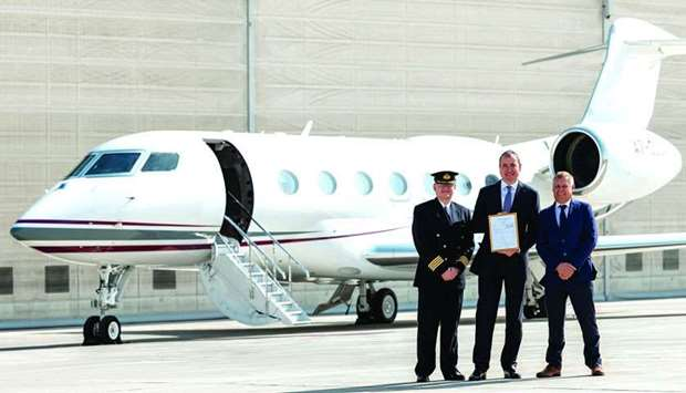 The private jet charter division of Qatar Airways Group received two brand-new Gulfstream G500 execu