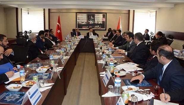 The joint security committee of Qatar and Turkey held its fourth meeting on Tuesday in the Turkish c