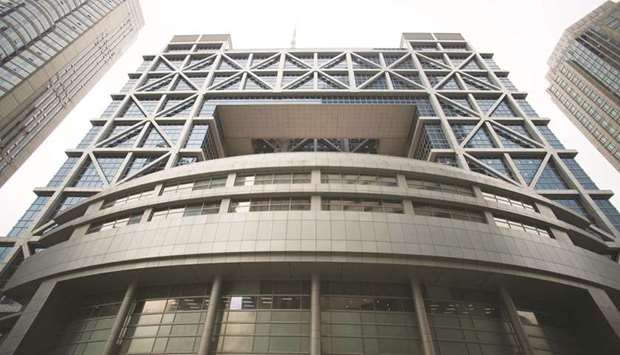 A view of the Shanghai Stock Exchange