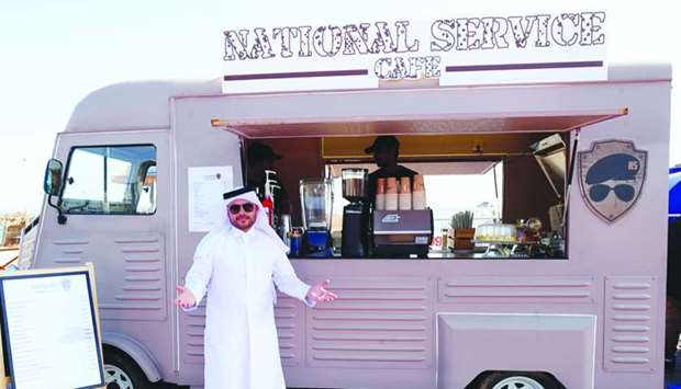 Hussain Albuhaliqa showcases his coffeeshop at 'Kaffeinated 3'