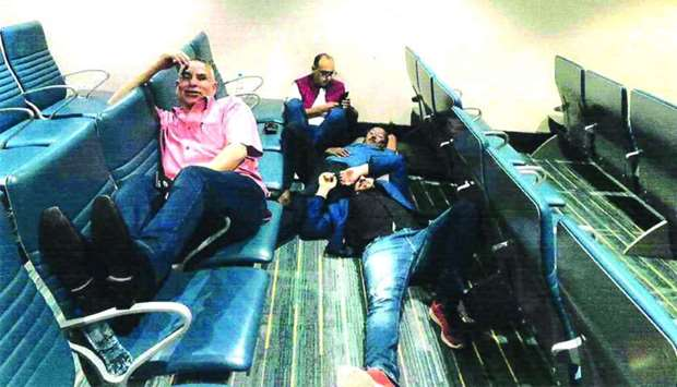 Qatar-based journalists spent 12 hours at Dubai airport