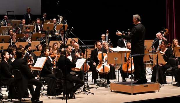 OPENING: The 'Opening Concert of Qatar-France 2020 Year of Culture', was presented by Qatar Philharm