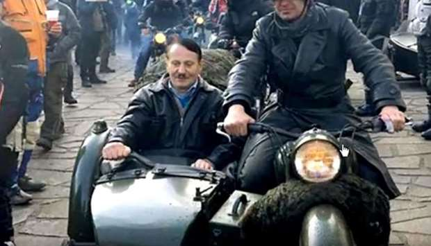 German police probe motorcycling 'Hitler'