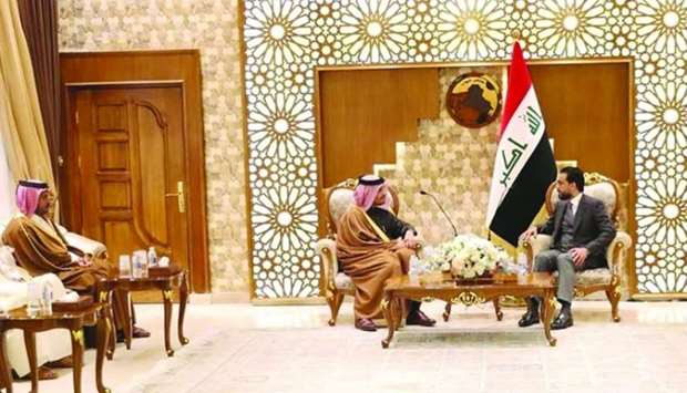 FM meets Iraq's speaker of council of representatives