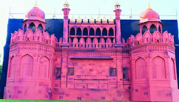 A replica of the famous Indian monument Red Fort will welcome visitors to the Indian Community Festi