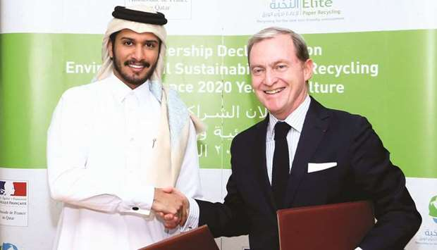 French embassy, local firm sign MoU on sustainability, recycling