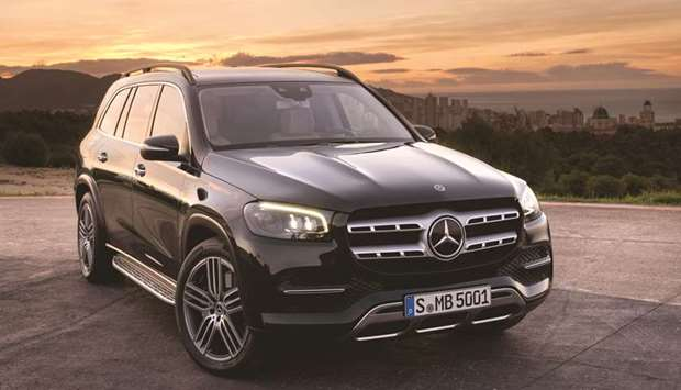 The Mercedes-Benz GLS.