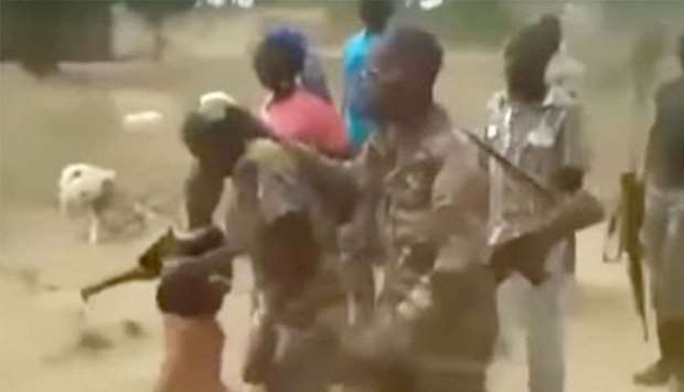 Cameroonian soldiers go on trial over shooting of women and children