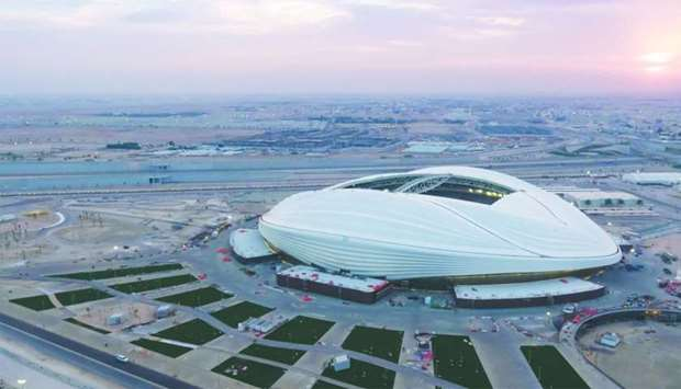 The Al Janoub Stadium, one of the venues of 2022 FIFA World Cup in Qatar