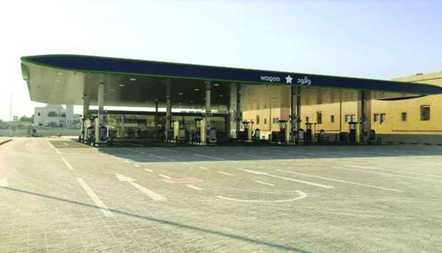The Bayaa Petrol Station, opened Thursday by Woqod
