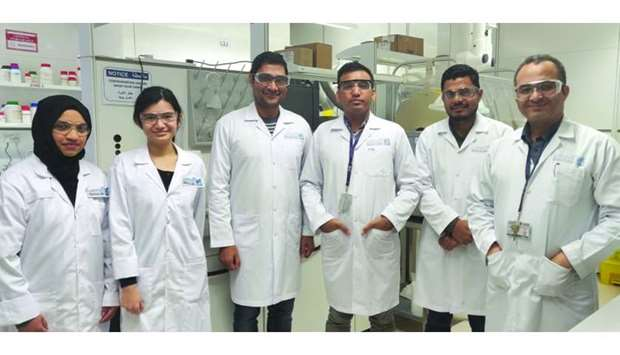 Qeeri scientists have synthesised a new highly efficient anti-bacterial nanomaterial.