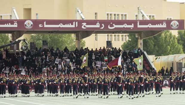 Amir attends military college graduation