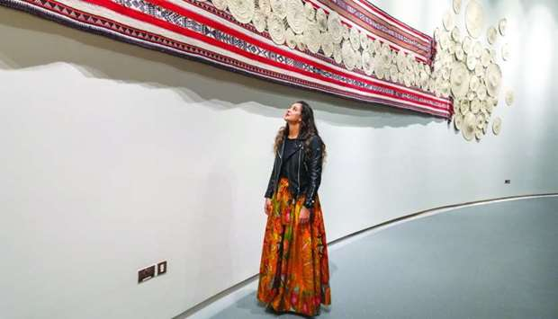 The exhibition curated by VCUarts Qatar alumna for Qatar National Day pays tribute to the country's