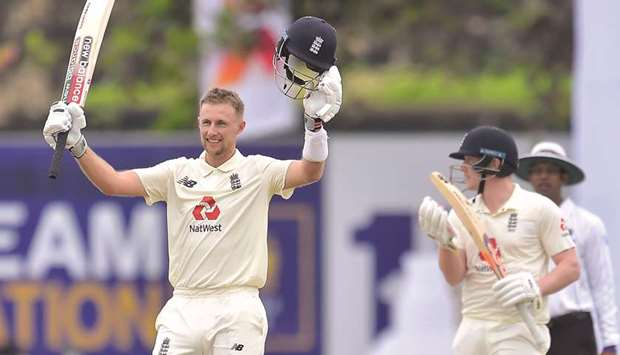 Sri Lanka dig in after Root double century