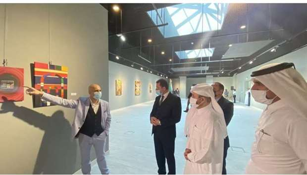 'Damascus, Levant' Exhibition opens at Katara