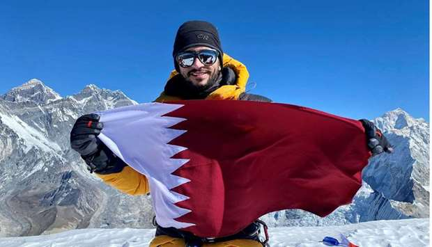 Qatar's Fahad Badar on Ama Dablam Summit