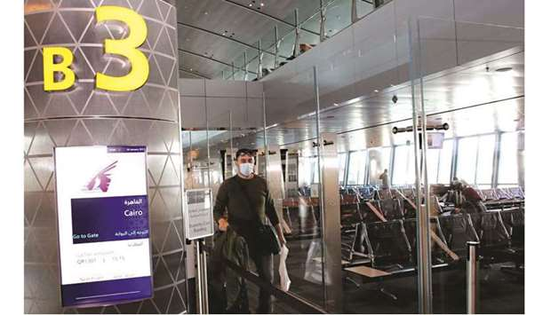 Flights between Qatar and Egypt, UAE resume