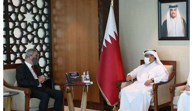 Al-Kuwari meets Maltese Minister for Foreign and European Affairs