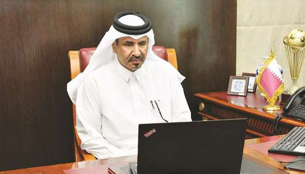 Qatar Chamber first vice chairman Mohamed bin Towar al-Kuwari.