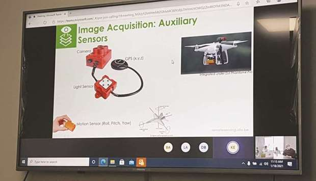 MME discusses using drones for monitoring marine environment