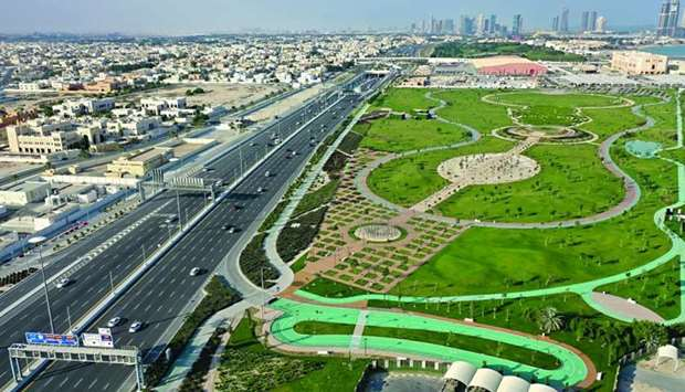 Ashghal's beautification projects