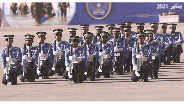 The Police College witnessed the graduation ceremony of a new batch of 112 candidate students, inclu