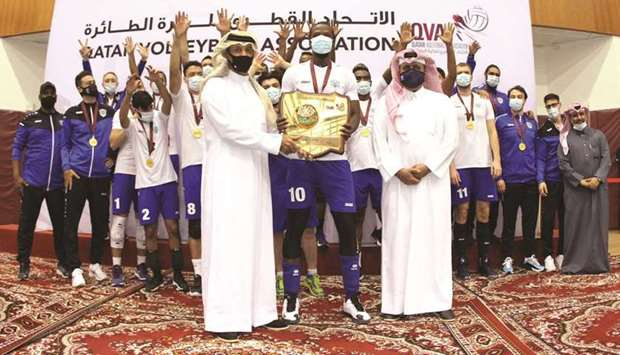 Police retain Qatar Volleyball League title