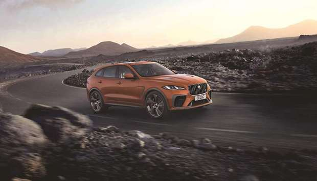 Jaguar takes the F-PACE SVR to the 'next level'