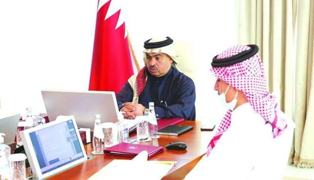 Al-Kuwari leads Qatari delegation to GCC meeting of ministers of commerce and members of Customs Uni