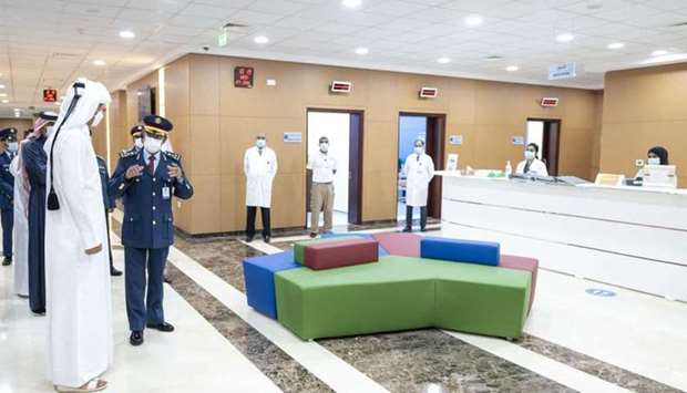 Amir visits Aviation Medical Centre