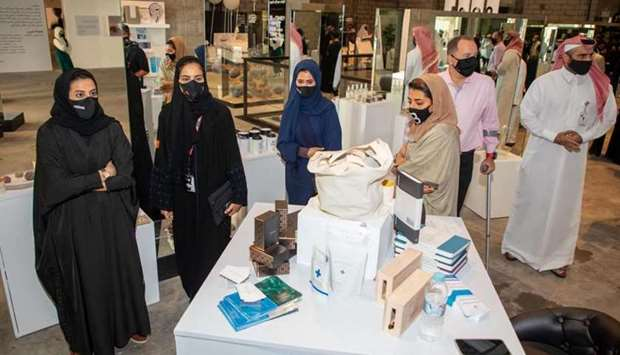 A delegation of senior Ooredoo officials visited the exhibition on the opening day and was introduce