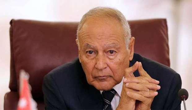Secretary-General of the Arab League Ahmed Aboul Gheit