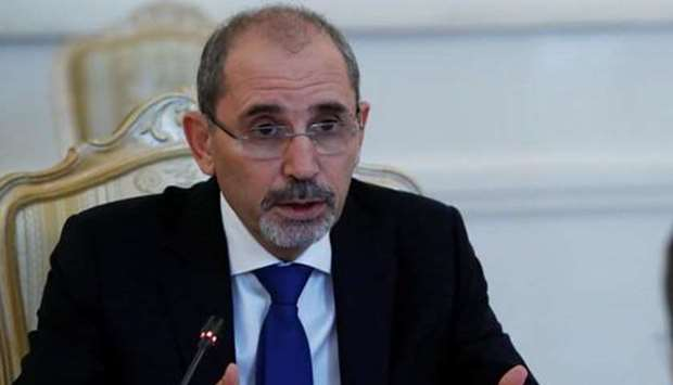Jordan's Deputy Premier and Minister of Foreign Affairs and Expatriates Ayman Safadi