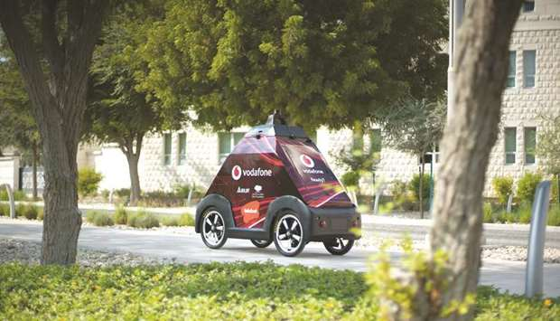 Qatar's first self-driving delivery kicks off at Education City