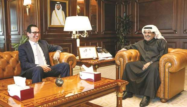 Attorney General meets US Secretary of Treasury