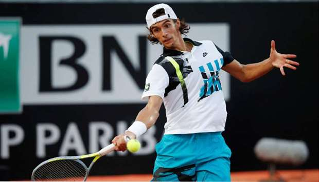 Italy's Lorenzo Musetti will attempt to reach his first Grand Slam main draw.