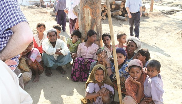 Rohingyas: a non-violent, peace-loving, downtrodden and benign people