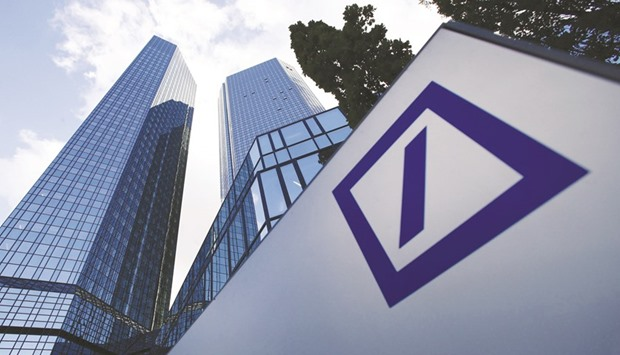 The headquarters of Deutsche Bank is seen in Frankfurt. The German lender is beefing up its Asia-Pacific equity-derivatives unit as it looks to capitalise on expected demand for quantitative strategies from local investors