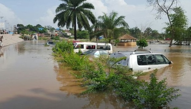 Flooding in Congo