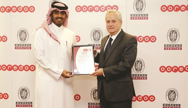 ooredoo qatar data centre receives new iso certification. Black Bedroom Furniture Sets. Home Design Ideas