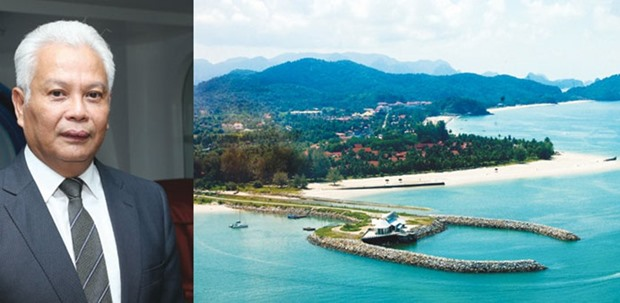 Tajuddin: Looking to work with Qatari companies. PICTURE: Jayan Orma. Right: Langkawi Island boasts of some 500 hotels, ranging from 2-star, 3-star, and 4-star hotels, as well as a handful of 5-star hotels. The island also has its own international airport, and is a Unesco-recognised world geopark