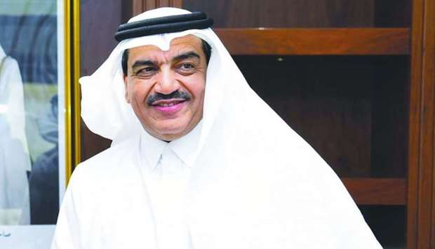 HE the Minister of Municipality and Environment Mohamed bin Abdullah al-Rumaihi.