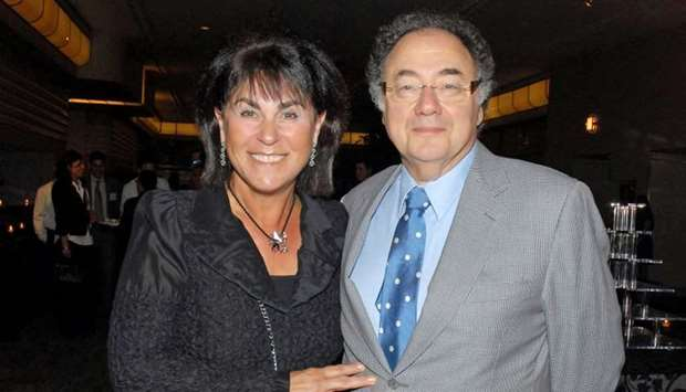 Honey and Barry Sherman, Chairman and CEO of Apotex Inc