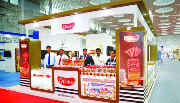 The Qbake stall at Made in Qatar. PICTURE: Jayaram